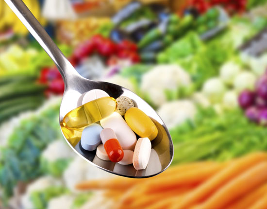 Nutraceuticals - Supplements on a Spoon